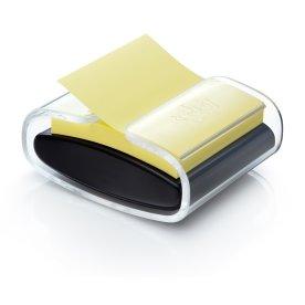 Post-it dispenser til Z-Notes, inkl. 1 gul blok