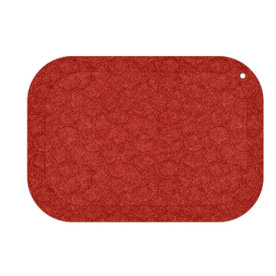 StandUp måtte rød B77xD53 Cm