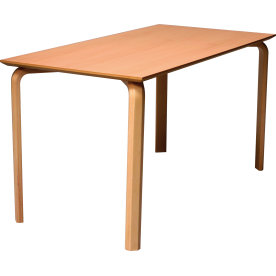 Morten konferencebord rekt. 80x140 cm bøg lam