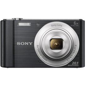 Sony DSCW810B digital kamera, sort