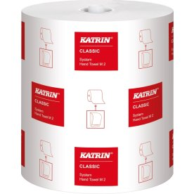 Katrin Plus Ease håndklæderulle, 2-lags, 6 stk