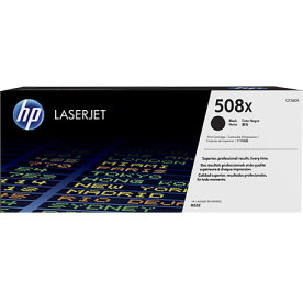 HP 508X/CF360X Lasertoner, sort, 12500s.