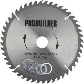 Probuilder klinge, 16x30x2,5 mm, t48