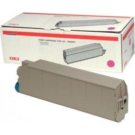 OKI 41963606 lasertoner, rød, 15000s