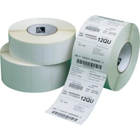 Zebra Label roll, 100x50mm, 4 ruller i pakken