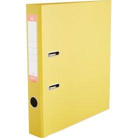 Lomax brevordner A4, 50mm, gul