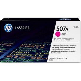 HP nr.507A/CE403A lasertoner, rød, 6000s