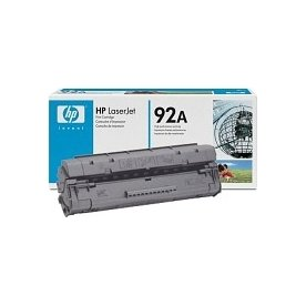 HP nr.92A/C4092A lasertoner, sort, 2500s
