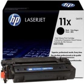 HP nr.11X/Q6511x lasertoner, sort, 12000s