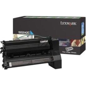 Lexmark 0015G042C lasertoner, blå, 15000s
