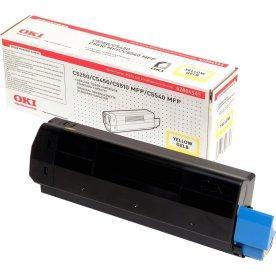 OKI 42127454 lasertoner, gul 5000s