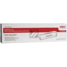 OKI 43502002 lasertoner, sort, 7000s