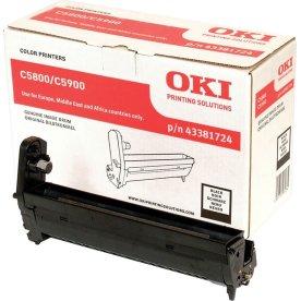 OKI 43381724 lasertromle, sort, 20000s