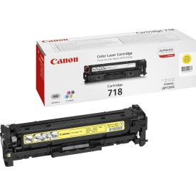 Canon nr.718Y/2659B002AA lasertoner, gul, 2900s