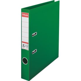 Esselte No.1 brevordner A4, 50mm, grøn
