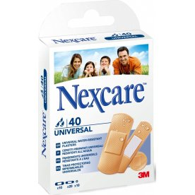 3M Nexcare plaster - vandafvisende 40 stk ass.