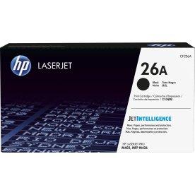 HP nr.26A/CF226A Lasertoner, sort, 3100s.