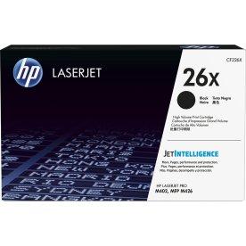 HP nr.26X/CF226X lasertoner, sort, 9000s.