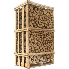 Ovntørret eg i brændetårn, ca. 1,8 m3