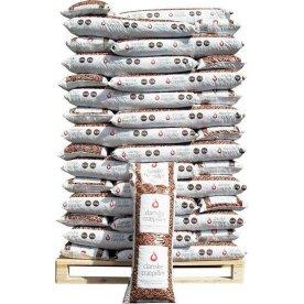 Danske træpiller 8 mm - 60x16 kg = 960 kg