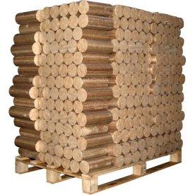 LongLife birkebriketter - 96x10 kg = 960 kg