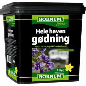 HORNUM - Hele Haven Gødning, 5 liter