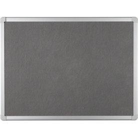 Vanerum opslagstavle 122,5x250 cm, grå filt