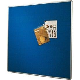 Vanerum opslagstavle 122,5x300 cm, blå filt