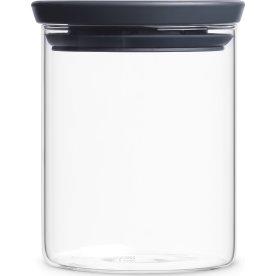 Brabantia Opbevaringsbøtte i glas, 0,7 liter