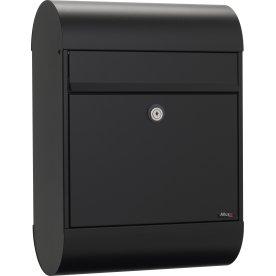 Allux 6000 Postkasse, sort, Ruko lås