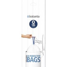 Brabantia Affaldspose Q, 18 liter, 20 stk.
