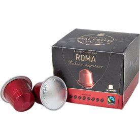 Real Coffee kaffekapsel Espresso Roma, 10 stk.