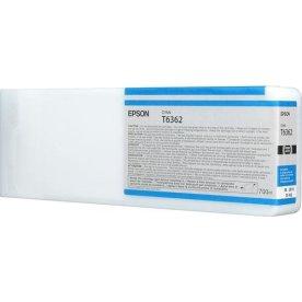 Epson T6362 Blækpatron Blå, 700 ml