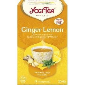 Yogi Tea Ginger Lemon, 17 breve