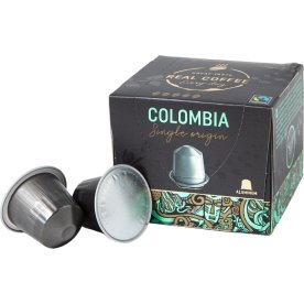 Real Coffee kaffekapsel Lungo Columbia, 10 stk