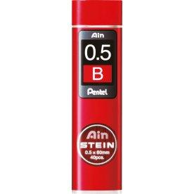 Pentel C275 stifter 0,5mm, B, 40 stk