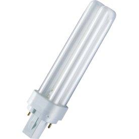 Osram Dulux S Kompakt Lysstofrør 7W/827, G23