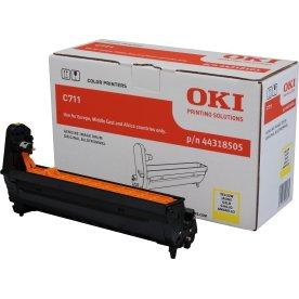 OKI 44318505 lasertromle, gul, 20000s