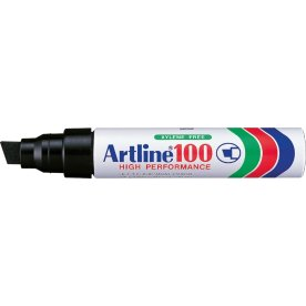 Artline EK100 permanent marker, sort