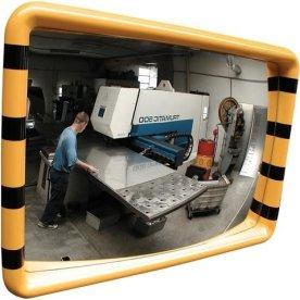 Industrispejl firkantet 30x50 cm, Akryl, inde
