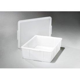 Låg til lagerkasse 420x320, Hvid