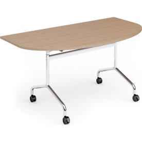 Space klapbord, 160x90 endeplade, bøg melamin