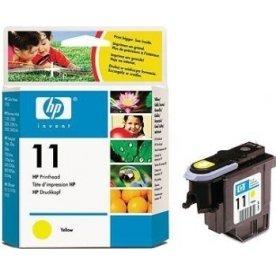 HP nr.11/C4813A printhoved, gul, 24000s