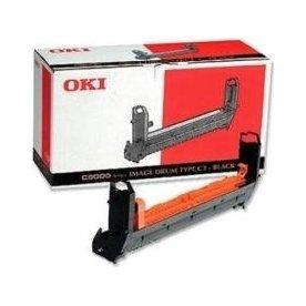 OKI 41514712 lasertromle, sort, 39000s
