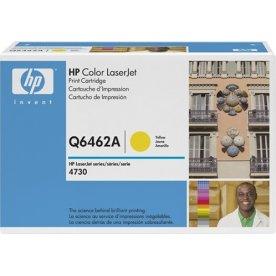 HP 644A/Q6462A lasertoner, gul, 12000s