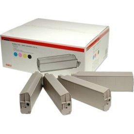 OKI 43112702 lasertoner, 15000s, sampak 4stk