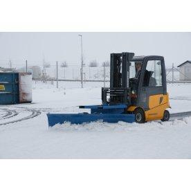 Sneplov til gaffeltruck, 1500 mm, blå