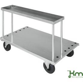 Arbejdsbord inkl. 4 stæng til transportvogn bøjler