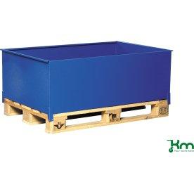 Spildbakke høj til EUR-paller, 1240x800x415