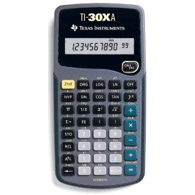 Texas Instruments TI-30XA lommeregner